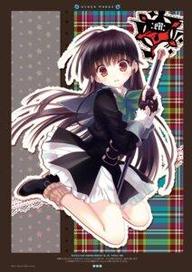 Rating: Questionable Score: 43 Tags: digital_version santa_matsuri seifuku shoukan_gakuen_no_magistry weapon User: Twinsenzw