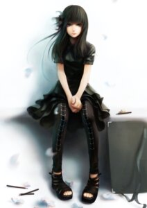 Rating: Safe Score: 57 Tags: dress gothic_lolita lolita_fashion sai_foubalana signed User: mattiasc02