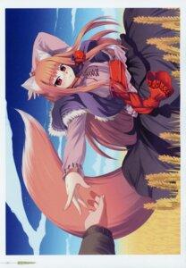 Rating: Safe Score: 7 Tags: animal_ears holo koume_keito spice_and_wolf tail User: kiyoe