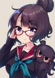 Rating: Safe Score: 22 Tags: fate/grand_order katsushika_hokusai_(fate/grand_order) megane seifuku sweater yukina_(black0312) User: Mr_GT