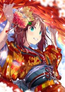 Rating: Safe Score: 28 Tags: amami_haruka japanese_clothes the_idolm@ster yae_(mono) User: sym455