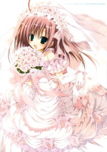 Rating: Safe Score: 44 Tags: dress inugami_kira sakurano_kurimu seitokai_no_ichizon wedding_dress User: WtfCakes