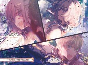 Rating: Safe Score: 13 Tags: armor blood cierra_(artist) shinigami_ni_sodaterareta_shoujo_wa_shikkoku_no_ken_wo_mune_ni_idaku User: kiyoe