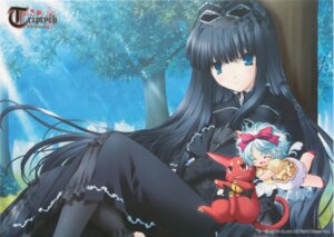Rating: Safe Score: 18 Tags: gothic_lolita lolita_fashion maya nimura_yuuji triptych User: admin2