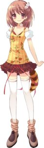 Rating: Safe Score: 34 Tags: flyable_heart inaba_yui ito_noizi thighhighs User: fireattack