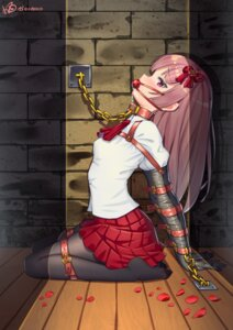 Rating: Questionable Score: 74 Tags: bondage eve_(ib) ib konishi_(565112307) pantyhose seifuku User: Mr_GT