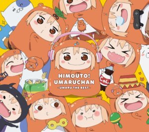 Rating: Safe Score: 20 Tags: chibi disc_cover doma_umaru headphones himouto!_umaru-chan User: blooregardo