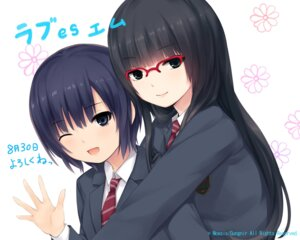 Rating: Safe Score: 23 Tags: coffee-kizoku love_es_m megane mizushiro_ayaka seifuku tsurutani_ayaka User: dyj