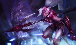 Rating: Safe Score: 8 Tags: armor cleavage league_of_legends leotard nidalee tagme thighhighs weapon User: Radioactive