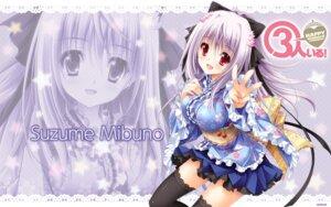 Rating: Safe Score: 55 Tags: 3-nin_iru! kimono lolita_fashion mibuno_suzume riffraff suzui_narumi thighhighs wa_lolita wallpaper User: sy1412