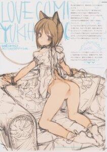 Rating: Explicit Score: 14 Tags: animal_ears ass dress hagiwara_yukiho nopan oyari_ashito pussy shoujo_kishidan sketch skirt_lift tagme the_idolm@ster User: Radioactive