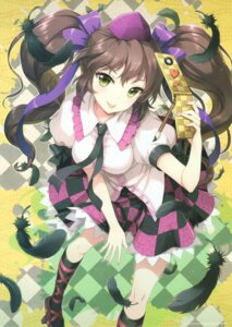 Rating: Safe Score: 63 Tags: an2a himekaidou_hatate touhou wind_mail User: yong