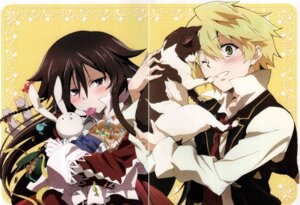 Rating: Safe Score: 10 Tags: alice_(pandora_hearts) crease male neko oz_vessalius pandora_hearts screening User: acas