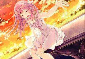 Rating: Safe Score: 28 Tags: dress sakuragi_ren skirt_lift summer_dress tagme User: kiyoe