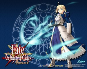 Rating: Safe Score: 7 Tags: armor fate/stay_night higurashi_ryuuji saber type-moon wallpaper User: R8-GT