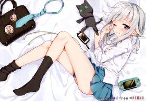 Rating: Safe Score: 43 Tags: neko sakuragi_ren seifuku skirt_lift User: kiyoe
