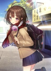 Rating: Safe Score: 42 Tags: headphones seifuku tagme User: Twinsenzw
