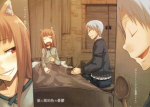 Rating: Safe Score: 18 Tags: animal_ears ayakura_juu craft_lawrence holo spice_and_wolf User: Azerty