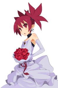 Rating: Safe Score: 25 Tags: disgaea dress etna pointy_ears wedding_dress User: Radioactive