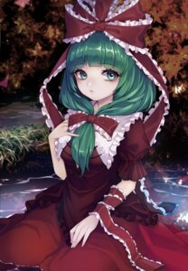 Rating: Safe Score: 14 Tags: kagiyama_hina touhou wikumi User: Mr_GT