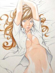 Rating: Questionable Score: 28 Tags: cleavage eisakusaku erect_nipples no_bra open_shirt User: Radioactive