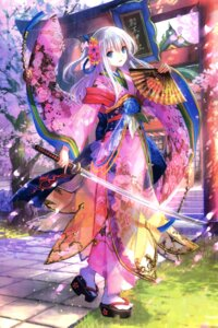 Rating: Safe Score: 104 Tags: fuzichoko kimono sword User: Twinsenzw