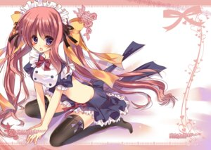Rating: Safe Score: 22 Tags: amane_ruri maid thighhighs User: blooregardo