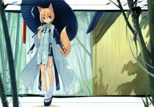 Rating: Safe Score: 15 Tags: animal_ears asahiage crease kitsune poco User: midzki