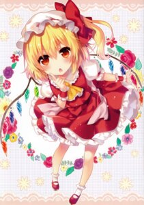 Rating: Safe Score: 61 Tags: eterna-radiare flandre_scarlet riichu touhou wings User: charunetra