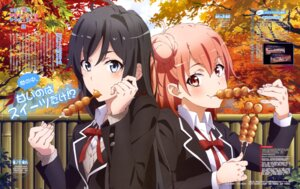 Rating: Questionable Score: 65 Tags: seifuku tatsuta_shinichi yahari_ore_no_seishun_lovecome_wa_machigatteiru. yuigahama_yui yukinoshita_yukino User: drop