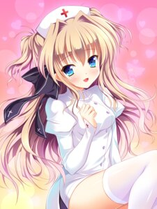 Rating: Safe Score: 80 Tags: mashiroiro_symphony nurse sena_airi thighhighs yagami-all_hail_nanao User: Mr_GT