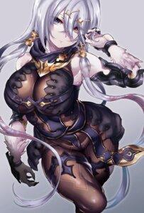 Rating: Safe Score: 41 Tags: armor atelier atelier_ryza bodysuit garter heterochromia hikari_(komitiookami) lila_decyrus User: mash