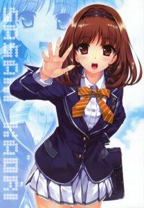 Rating: Safe Score: 85 Tags: fixed misaki_kurehito sasaki_kaori seifuku trumple ushinawareta_mirai_wo_motomete User: castle