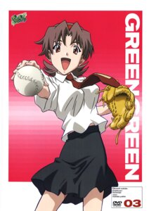 Rating: Safe Score: 4 Tags: baseball disc_cover green_green kutsuki_wakaba seifuku User: blooregardo