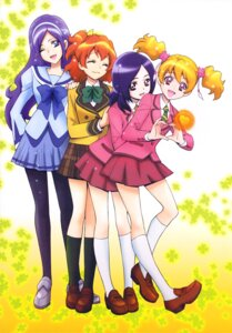 Rating: Safe Score: 9 Tags: aono_miki fresh_pretty_cure! higashi_setsuna kamikita_futago momozono_love pantyhose pretty_cure seifuku yamabuki_inori User: drop