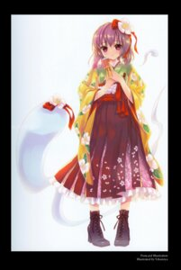 Rating: Safe Score: 31 Tags: cradle hieda_no_akyuu kuroya_shinobu touhou User: Radioactive