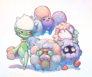 Rating: Safe Score: 9 Tags: jumpluff pokemon roserade shaymin tangela tokonatu whimsicott User: nphuongsun93