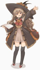 Rating: Safe Score: 35 Tags: dress halloween murakami_meishi pointy_ears thighhighs witch User: nphuongsun93