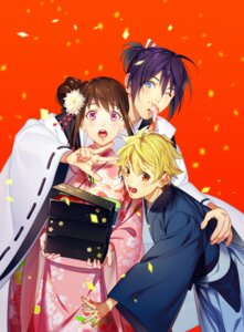 Rating: Safe Score: 13 Tags: iki_hiyori kimono noragami tagme yato yukine User: charunetra