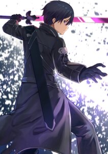 Rating: Safe Score: 16 Tags: kirito mosta_(lo1777789) sword sword_art_online sword_art_online_alicization User: Dreista