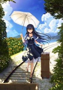 Rating: Safe Score: 39 Tags: dress heels key kushima_kamome na-ga see_through skirt_lift summer_pockets summer_pockets_reflection_blue User: marechal