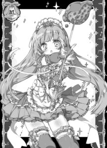 Rating: Safe Score: 21 Tags: dress houjou_sophie kamiya_maneki monochrome pripara sketch thighhighs User: KazukiNanako