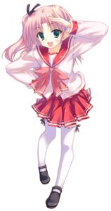 Rating: Safe Score: 29 Tags: maaryan seifuku takeshi_shinobu thighhighs to_heart_2 to_heart_(series) User: hobbito