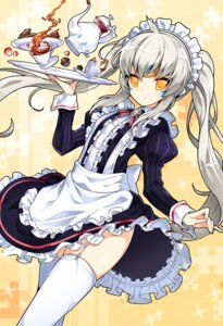 Rating: Safe Score: 49 Tags: elsword eve_(elsword) maid poseich stockings tagme thighhighs User: fairyren