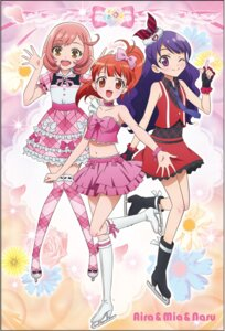 Rating: Safe Score: 14 Tags: ageha_mia ayase_naru dress harune_aira heels ice_skating pretty_rhythm pretty_rhythm:_rainbow_live thighhighs User: saemonnokami
