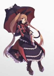 Rating: Safe Score: 9 Tags: blazblue dress gothic_lolita heels lolita_fashion rachel_alucard tagme umbrella User: Nico-NicoO.M.