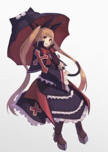 Rating: Safe Score: 9 Tags: blazblue dress gothic_lolita heels lolita_fashion rachel_alucard toima_(beat0829) umbrella User: Nico-NicoO.M.