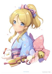Rating: Safe Score: 41 Tags: 6u ayase_eli eternal_land kimono love_live! User: charunetra