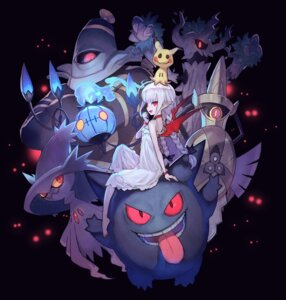 Rating: Questionable Score: 22 Tags: aegisalsh chandelure dress dusknoir gengar lack mimikyu_(pokemon) mismagius pointy_ears pokemon wings User: Dreista