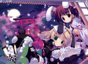 Rating: Safe Score: 39 Tags: animal_ears bunny_ears fixed fujima_takuya kimono User: petopeto